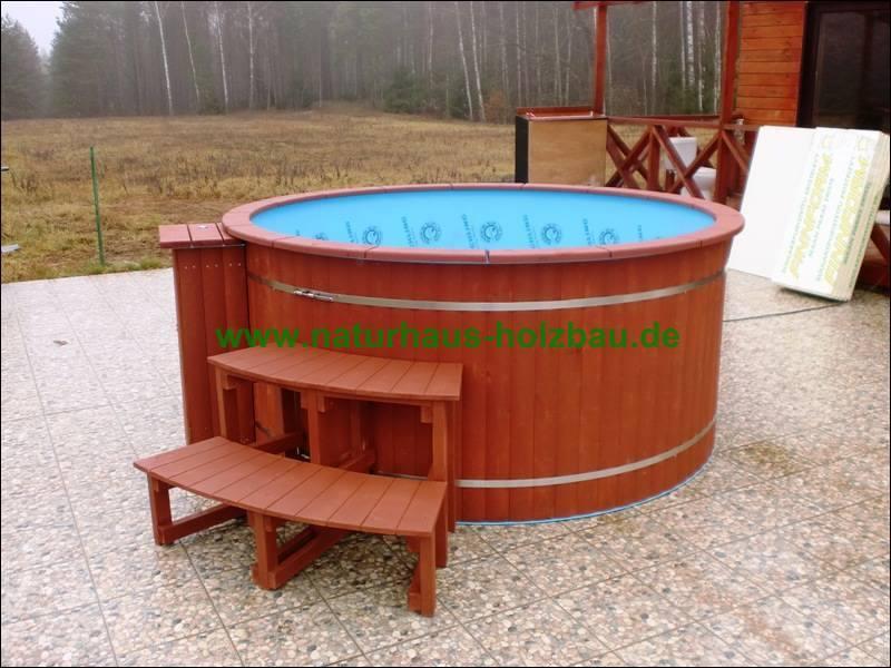 badefass hot tub nh 220 polypropylen naturhaus vertriebs gmbh. Black Bedroom Furniture Sets. Home Design Ideas