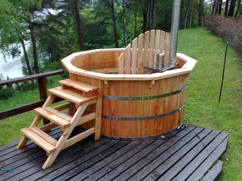 badefass hot tub nh 190 l rche naturhaus vertriebs gmbh. Black Bedroom Furniture Sets. Home Design Ideas