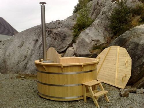 badefass hot tub nh 150 thermo naturhaus vertriebs gmbh. Black Bedroom Furniture Sets. Home Design Ideas