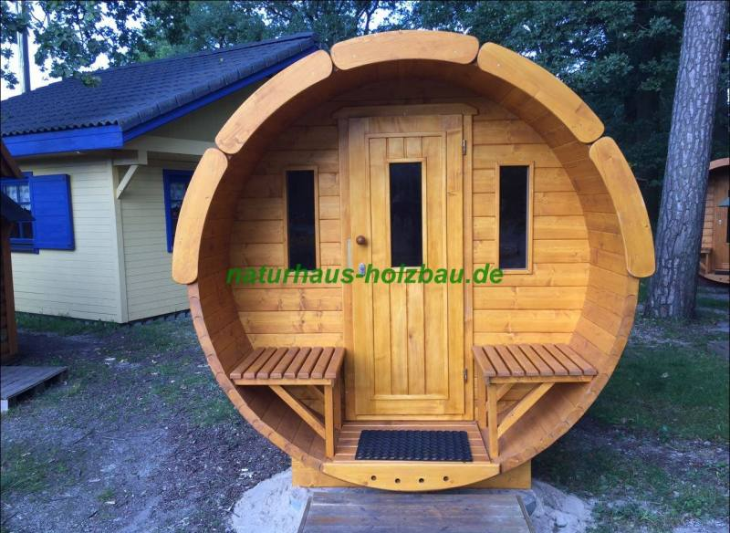 fass sauna nh 330 2 20 m mit querliegen 58 mm naturhaus vertriebs gmbh. Black Bedroom Furniture Sets. Home Design Ideas
