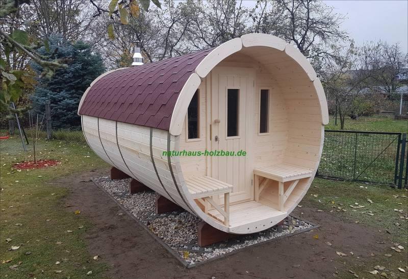 fass sauna nh 400 2 00 m 58 mm naturhaus vertriebs gmbh. Black Bedroom Furniture Sets. Home Design Ideas