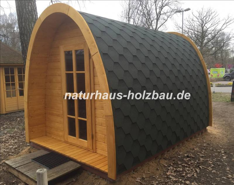 sauna pod in massiver 58 mm nordischer fichte 3 50 m naturhaus vertriebs gmbh. Black Bedroom Furniture Sets. Home Design Ideas